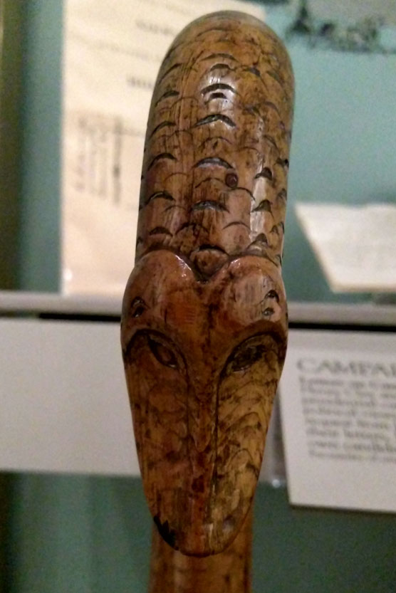 Joseph Smith's Serpent Cane